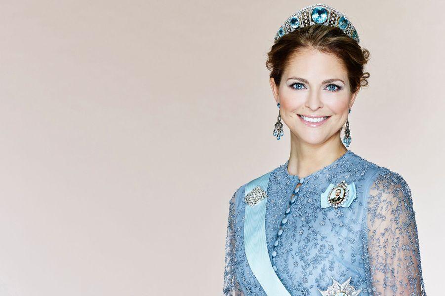 La princesse Madeleine de Suède. Portrait officiel dévoilé début 2016