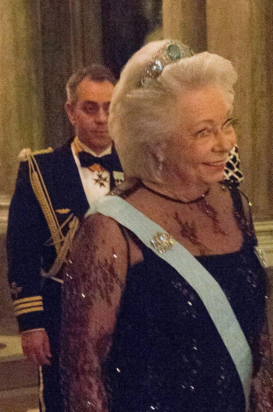 La princesse Christina de Suède, le 11 février 2015