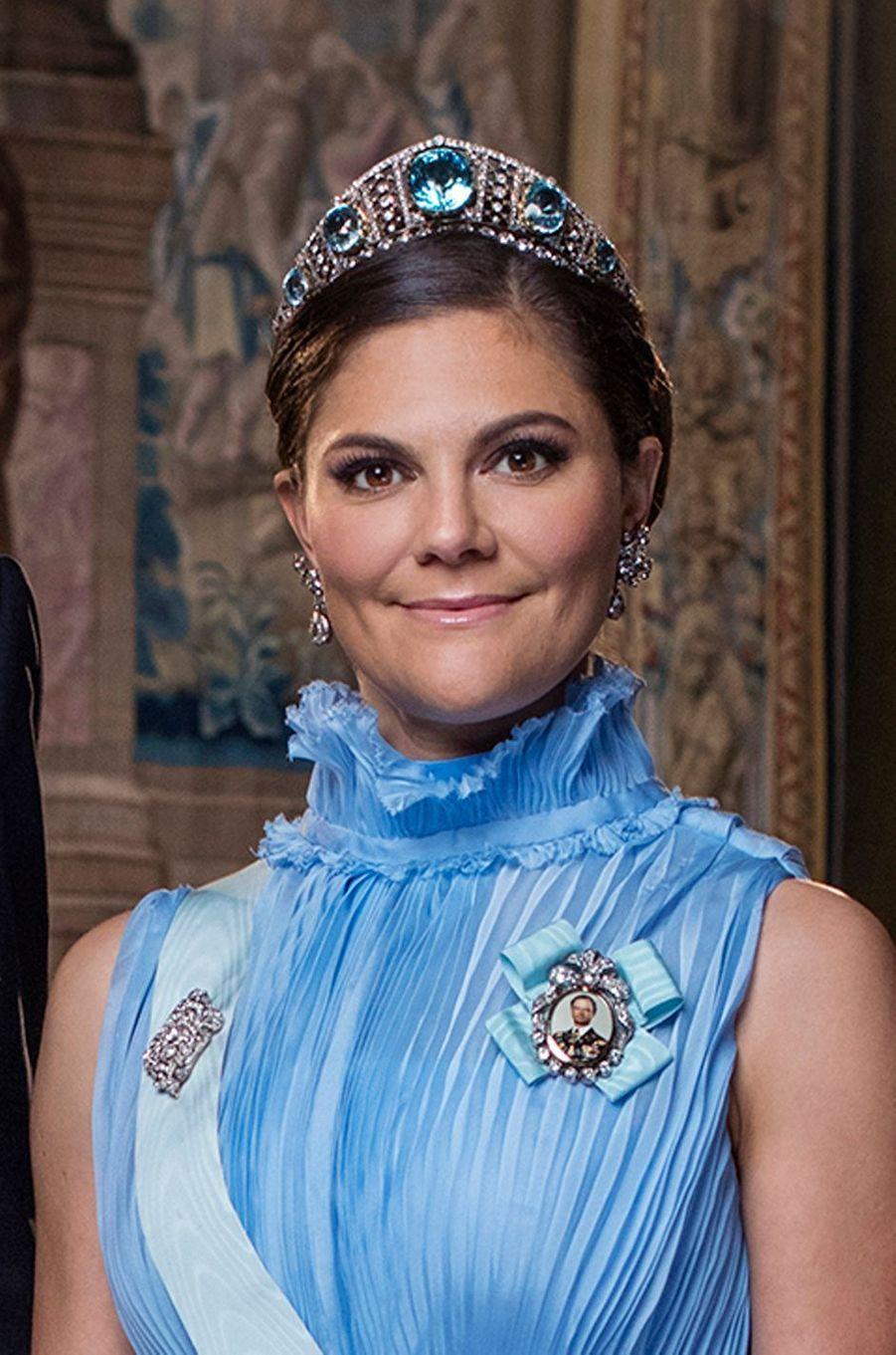 La princesse Victoria de Suède. Portrait officiel dévoilé début 2018