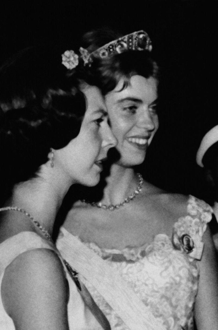 La princesse Margaretha de Suède, le 16 novembre 1964