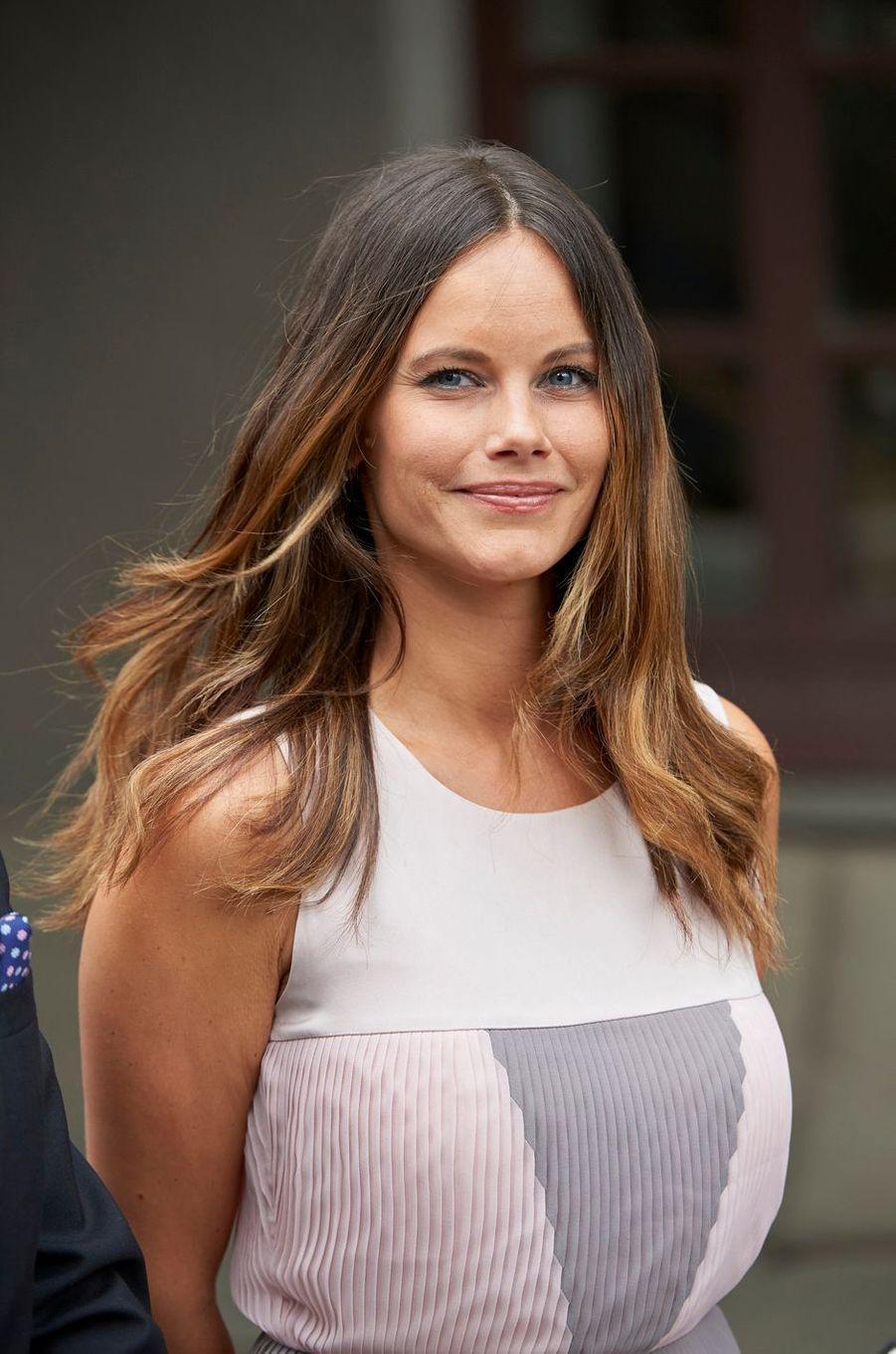 La princesse Sofia de Suède à Bastad, le 4 août 2016