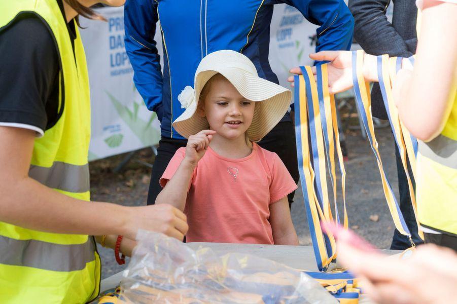 La princesse Estelle de Suède à Solna, le 11 septembre 2016