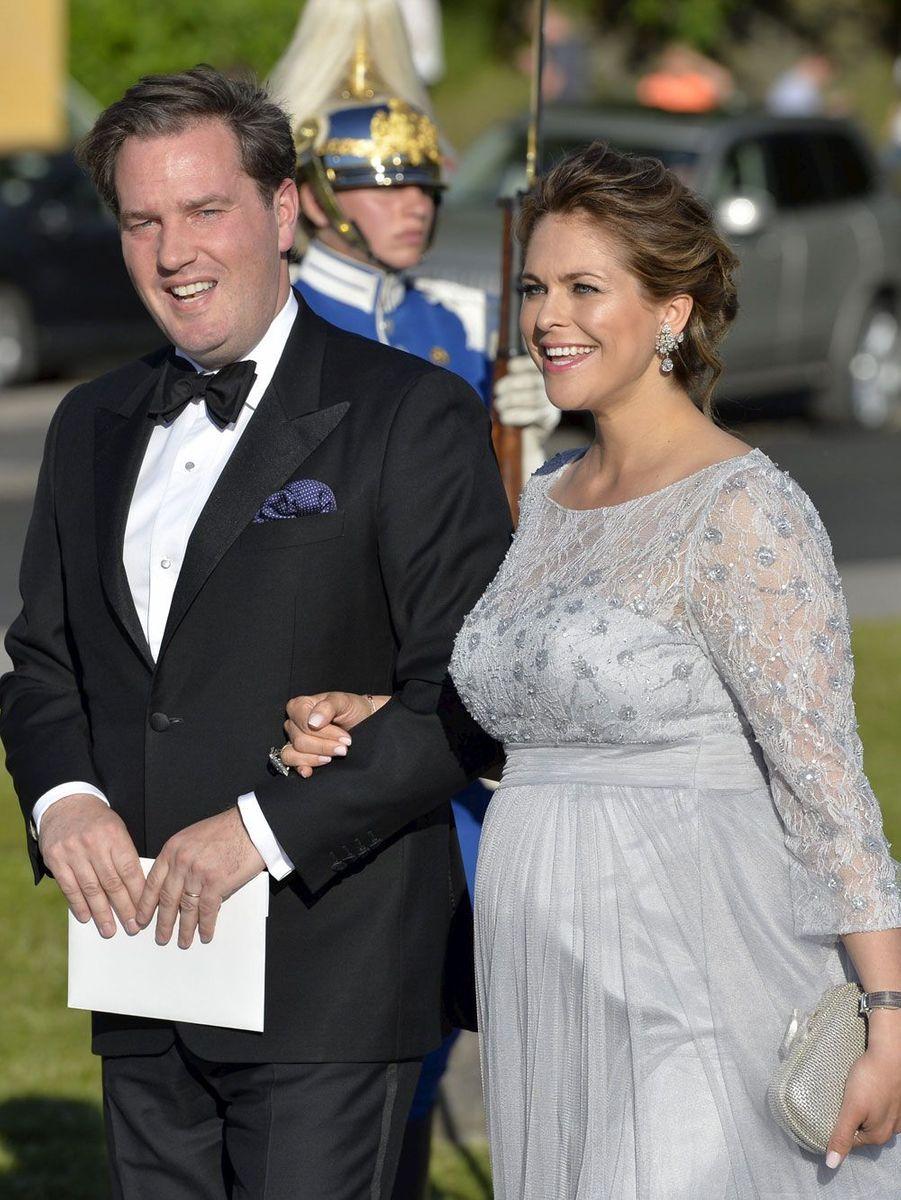 Madeleine de Suède et son mari Chris O'Neill