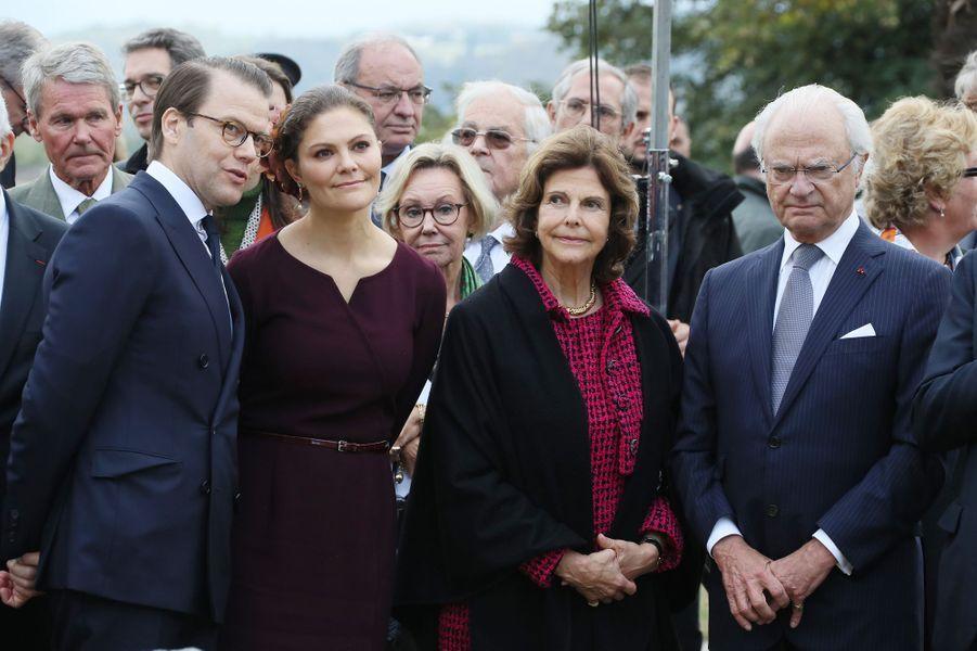 La famille royale de Suède à Pau, le 8 octobre 2018