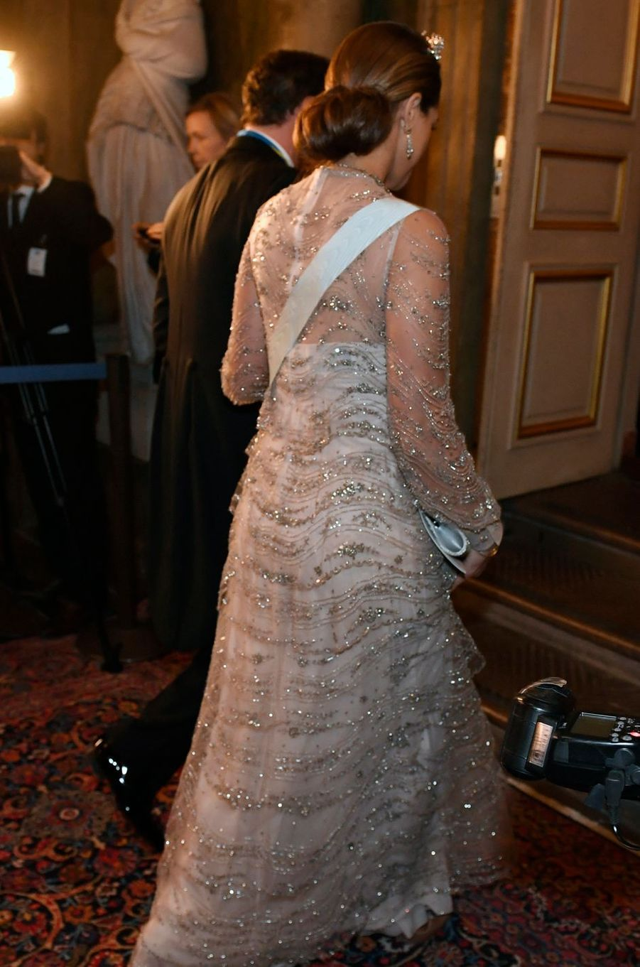 La princesse Madeleine de Suède à Stockholm, le 11 décembre 2016