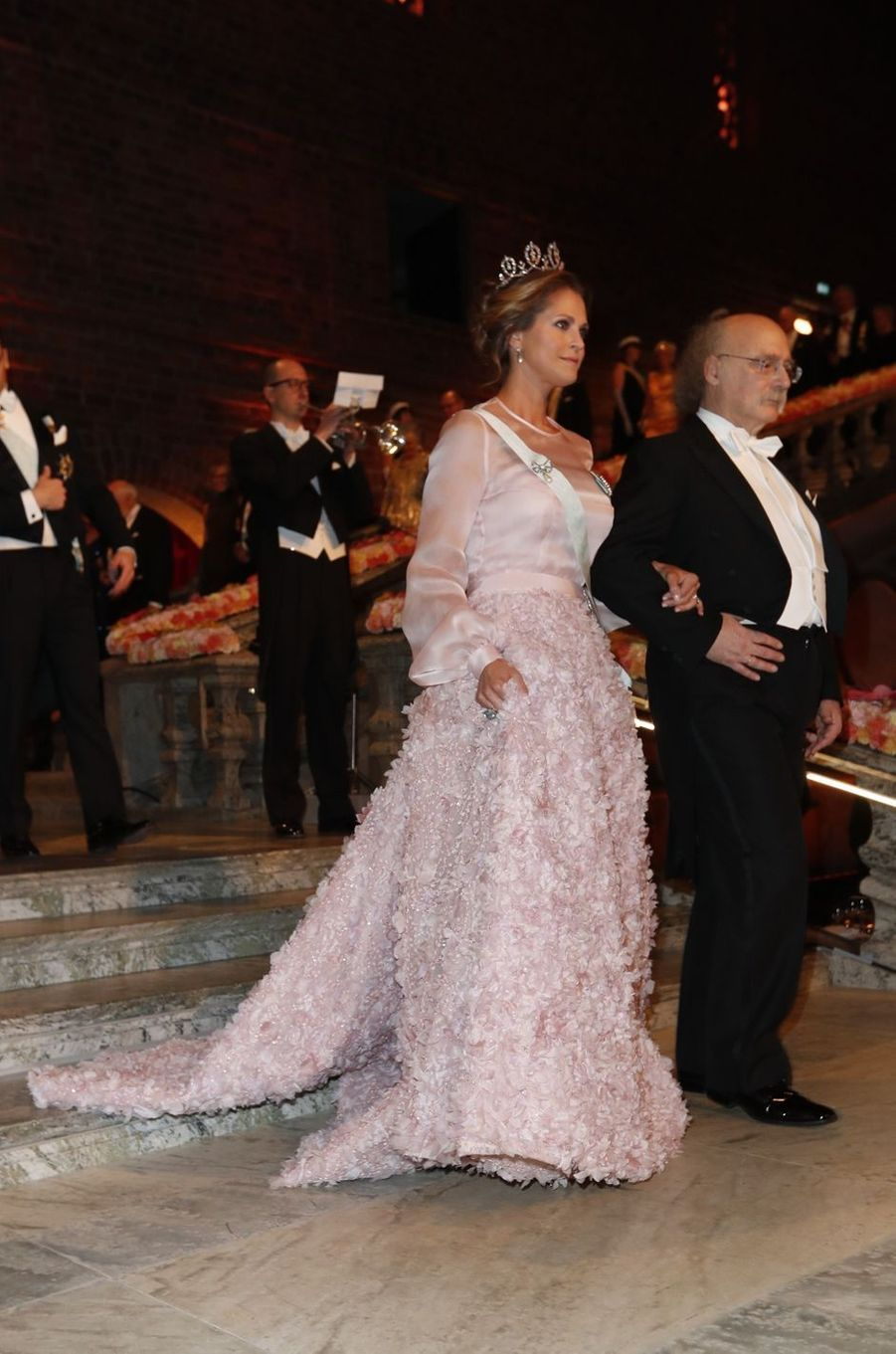 La princesse Madeleine de Suède en Fadi el Khoury à Stockholm, le 10 décembre 2016