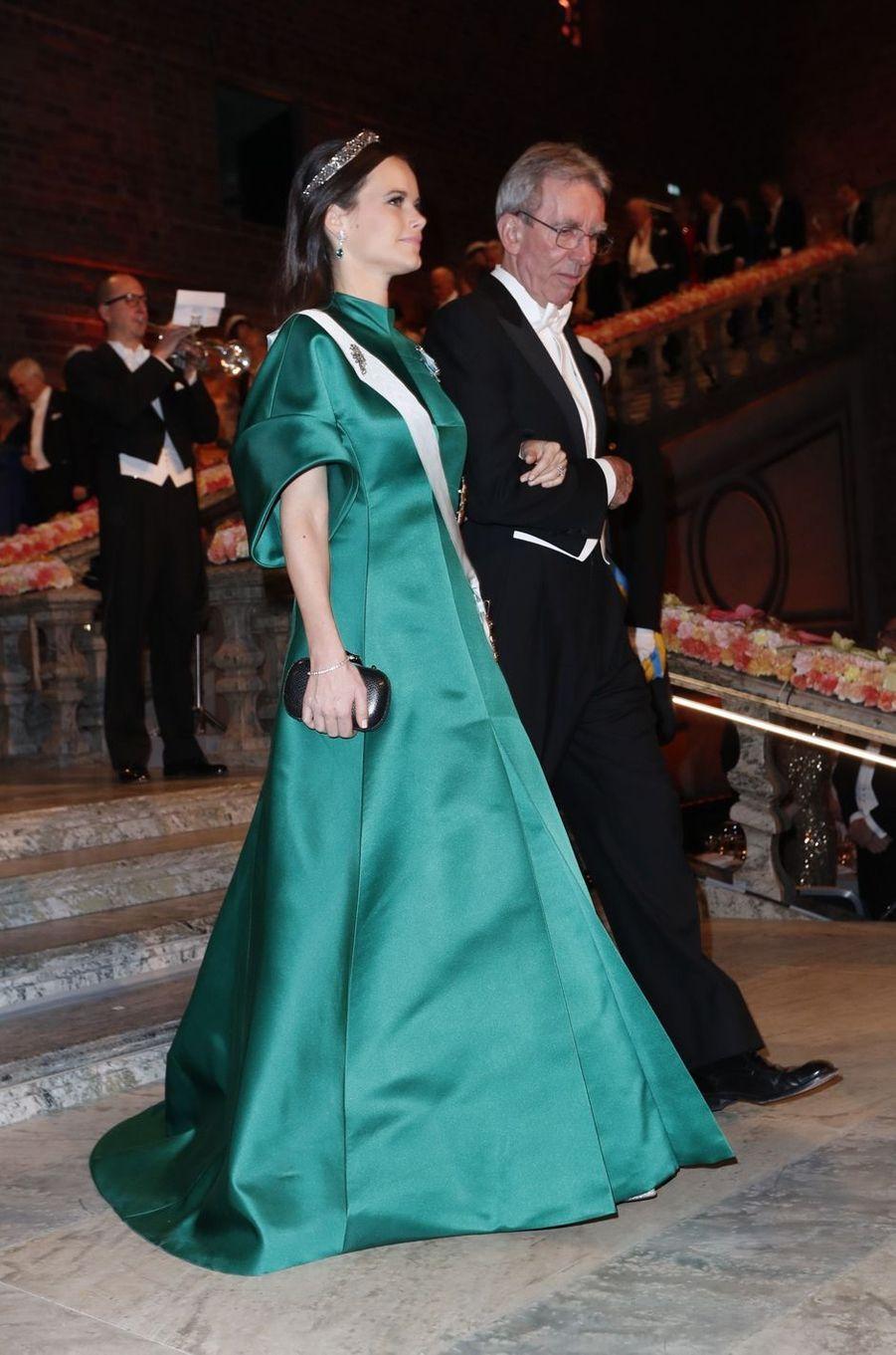 La princesse Sofia de Suède en Dagmar à Stockholm, le 10 décembre 2016