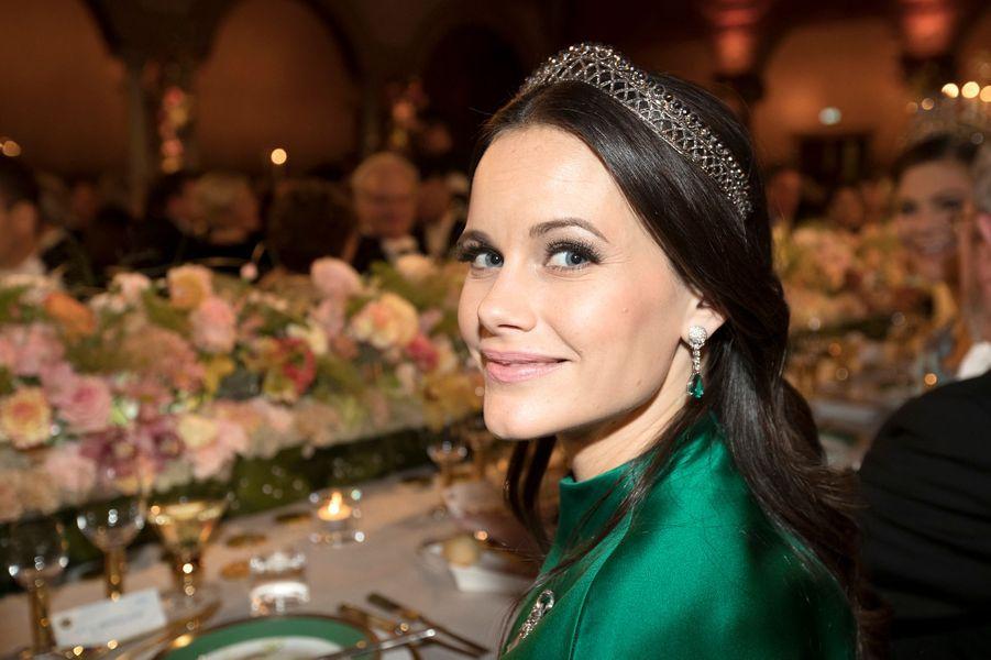 La princesse Sofia de Suède à Stockholm, le 10 décembre 2016