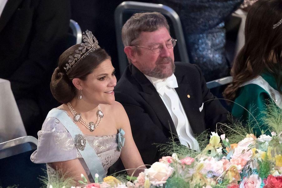 La princesse Victoria de Suède, à Stockholm le 10 décembre 2016