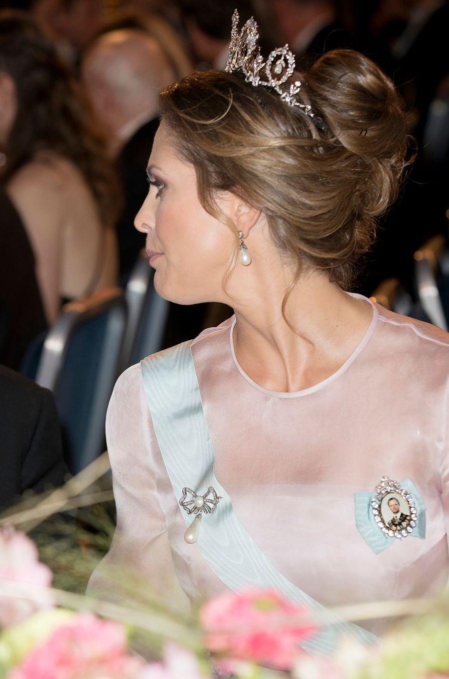 La princesse Madeleine de Suède à Stockholm, le 10 décembre 2016