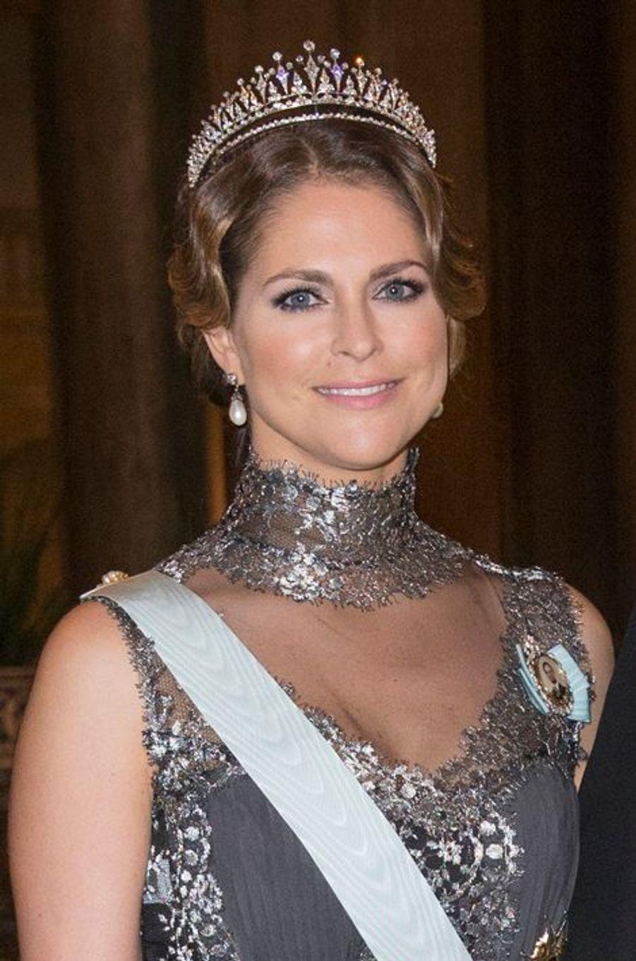 La princesse Madeleine de Suède, le 11 décembre 2015