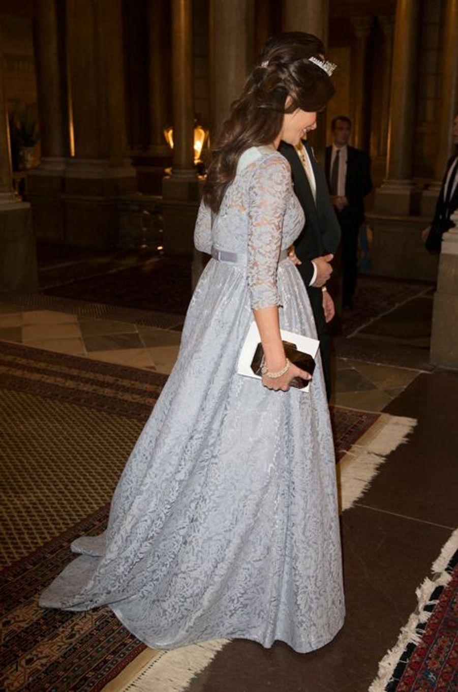 La princesse Sofia avec le prince Carl Philip de Suède, le 11 décembre 2015