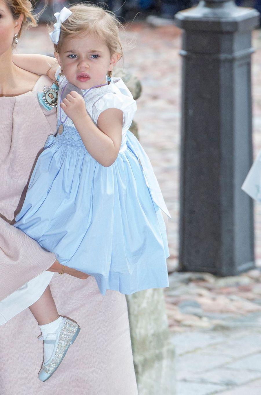 La princesse Leonore de Suède à Stockholm, le 27 mai 2016