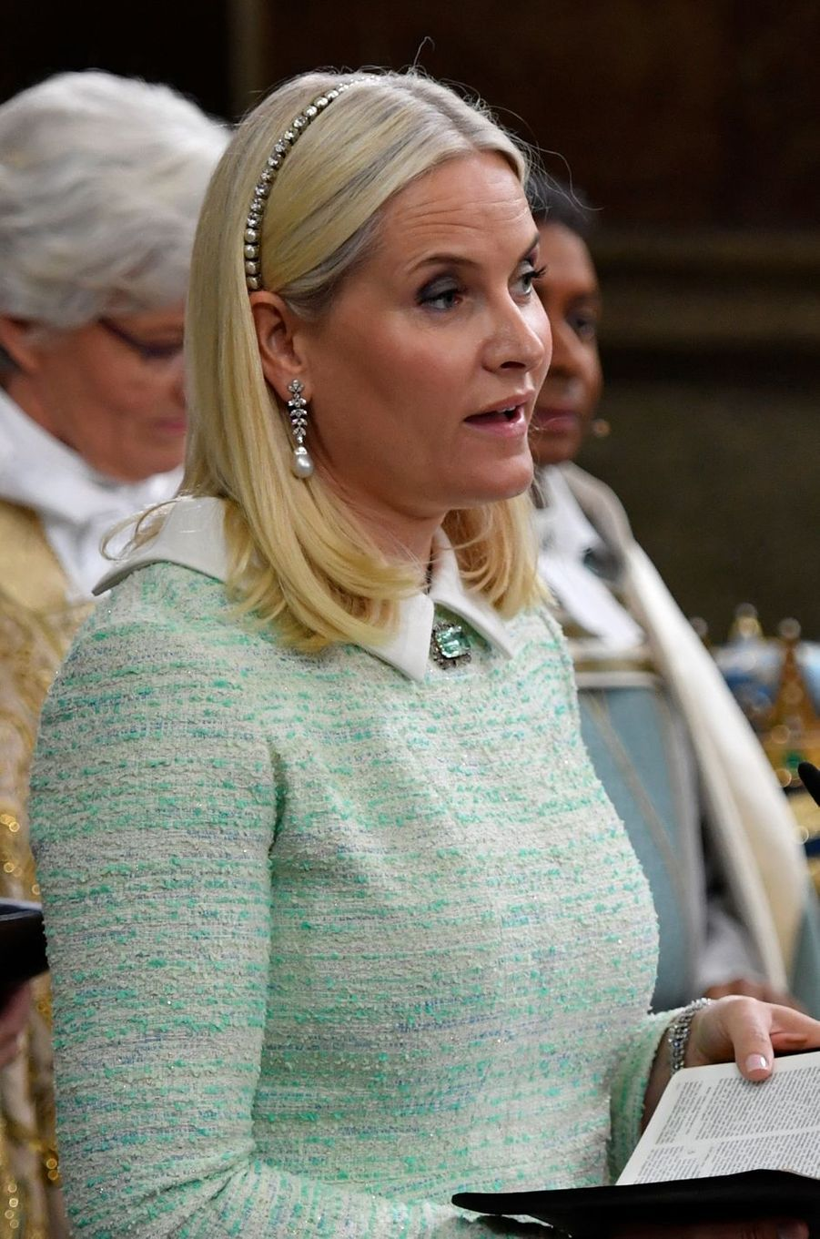 La princesse Mette-Marit de Norvège à Stockholm, le 27 mai 2016