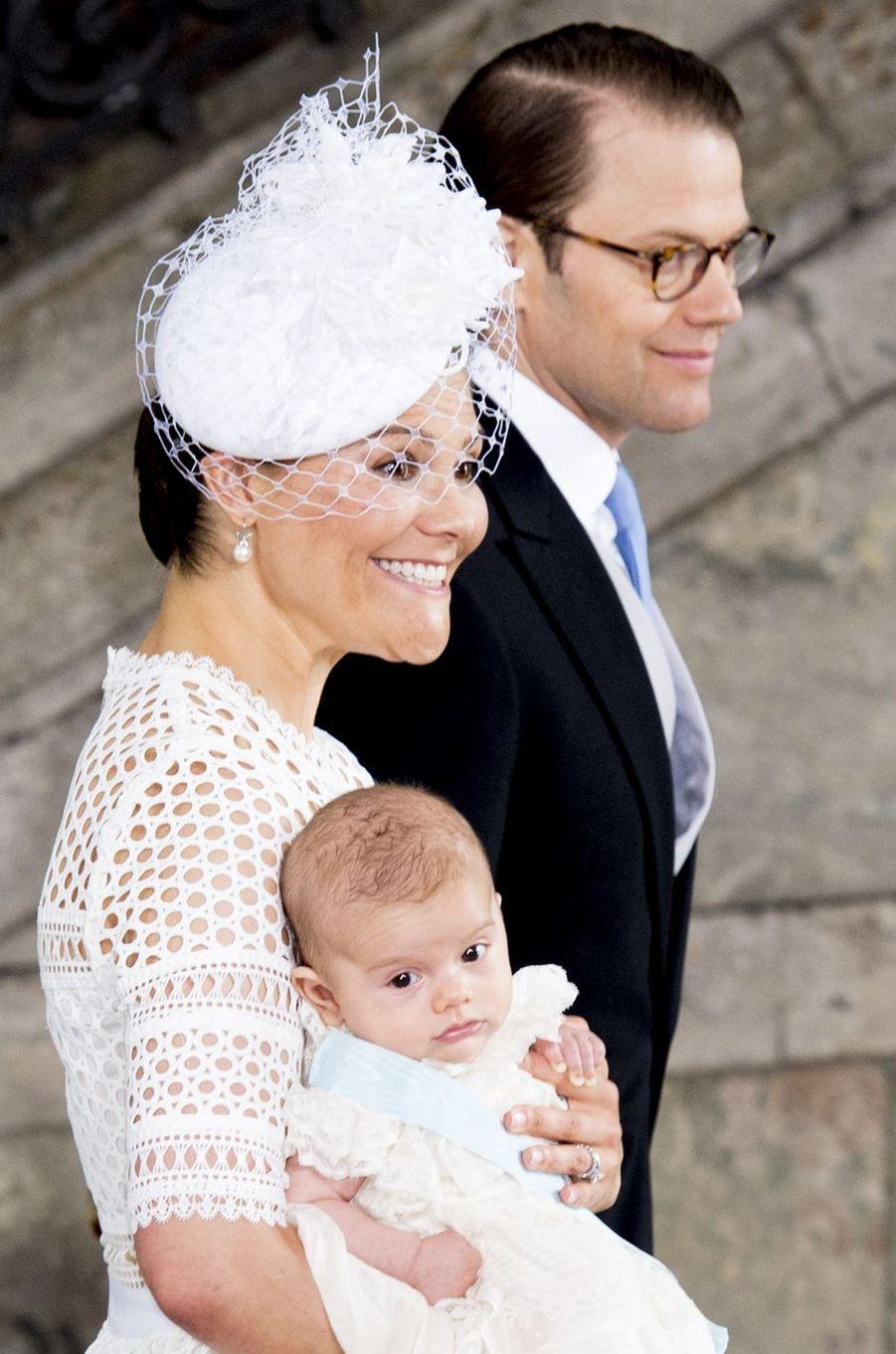 La princesse Victoria de Suède à Stockholm, le 27 mai 2016