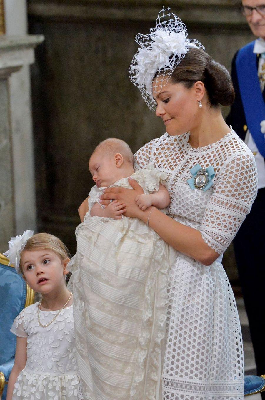 La princesse Victoria de Suède en By Malina à Stockholm, le 27 mai 2016