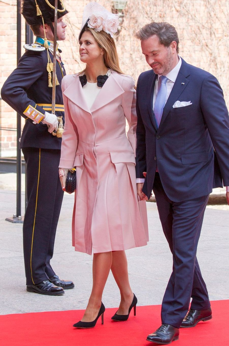 La princesse Madeleine de Suède à Stockholm, le 30 avril 2016