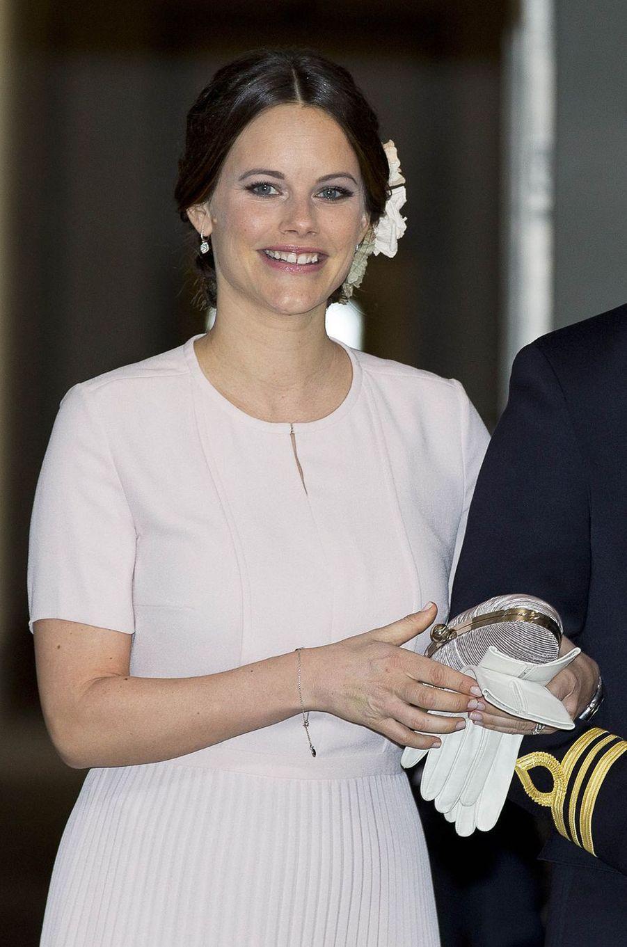 La princesse Sofia de Suède à Stockholm, le 30 avril 2016