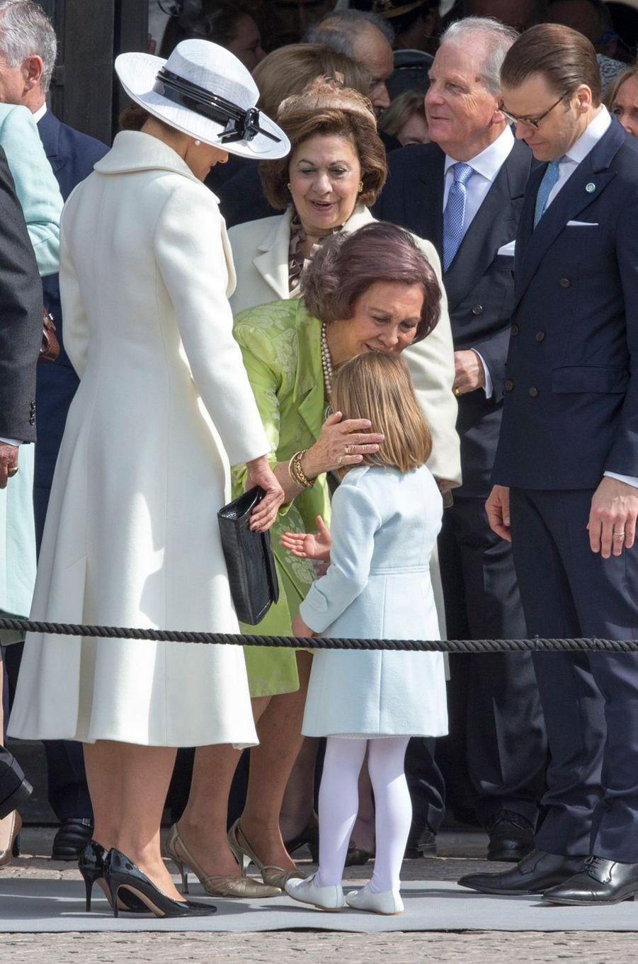 La princesse Victoria de Suède à Stockholm, le 30 avril 2016