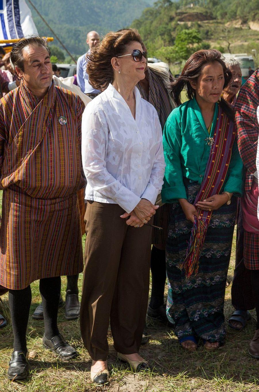 La reine Silvia de Suède à Bjara, le 10 juin 2016