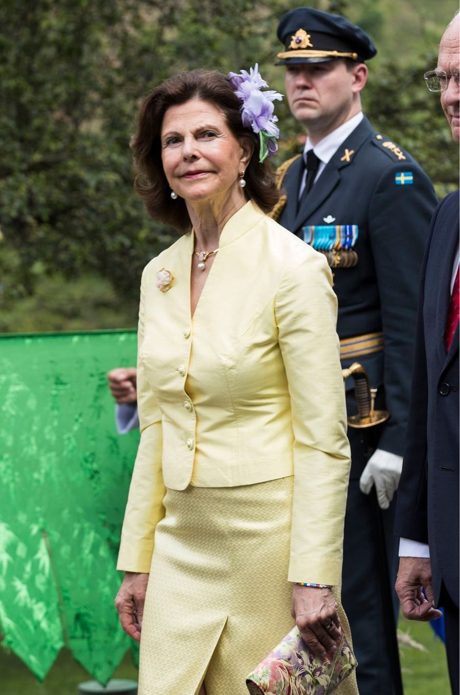 La reine Silvia de Suède à Thimphu, le 8 juin 2016