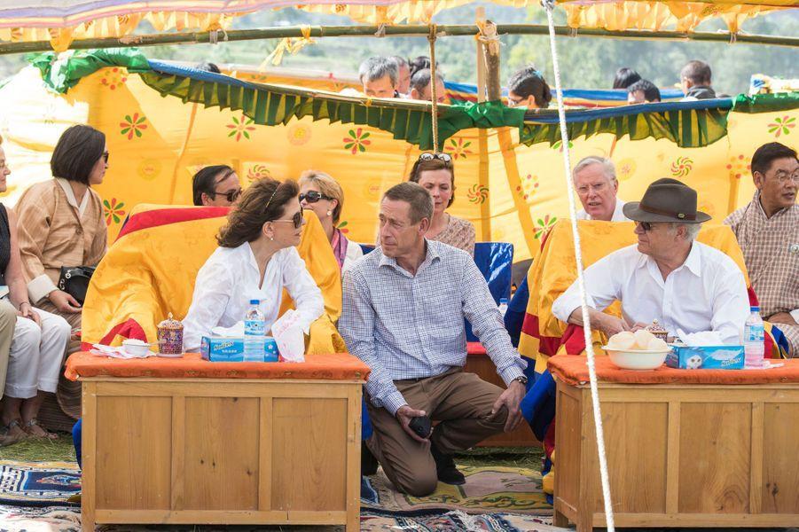 La reine Silvia et le roi Carl XVI Gustaf de Suède à Bjara, le 10 juin 2016