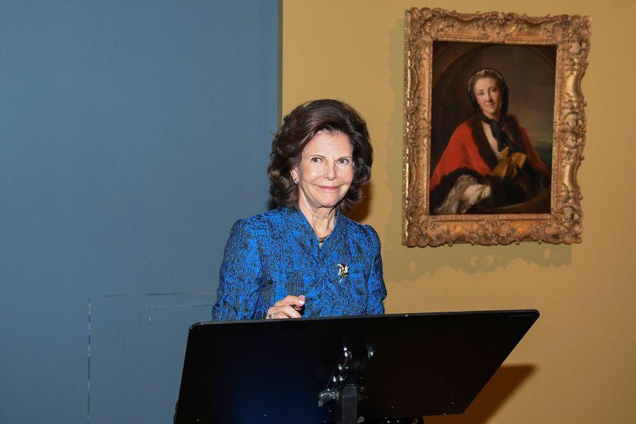 Silvia, en avant-première au Louvre