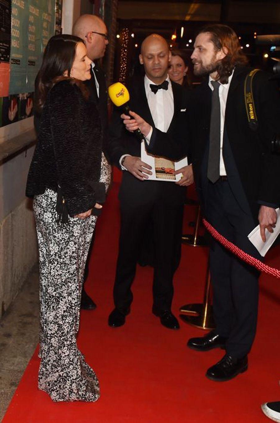 La princesse Sofia de Suède à Göteborg, le 18 mars 2016