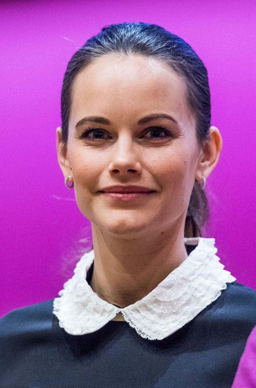La princesse Sofia de Suède, née Hellqvist, à Solna, le 6 décembre 2016, jour de ses 32 ans