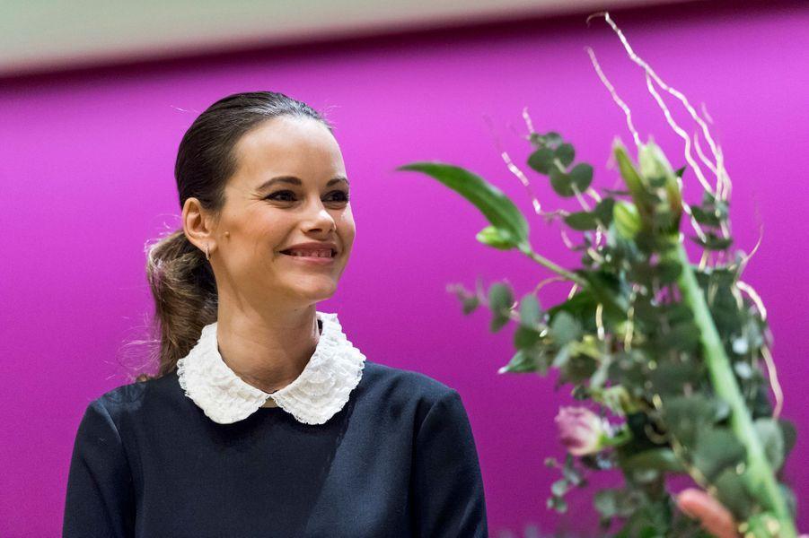 La princesse Sofia de Suède au Karolinska Institutet à Solna, le 6 décembre 2016