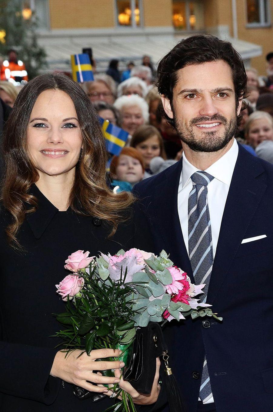 Sofia et Carl Philip, en week-end dans leur duché