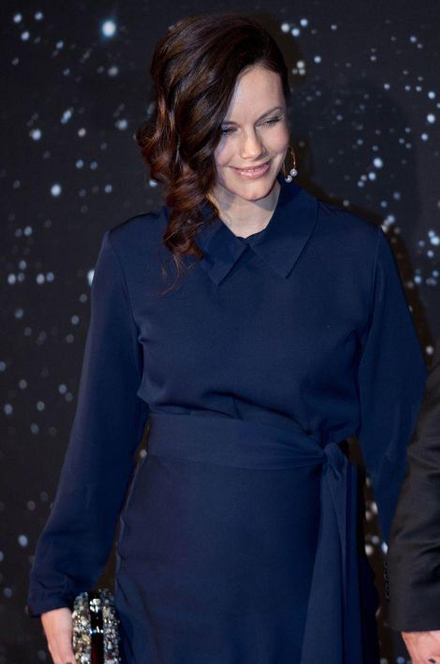 La princesse Sofia de Suède au Gala des sports à Stockholm, le 25 janvier 2016