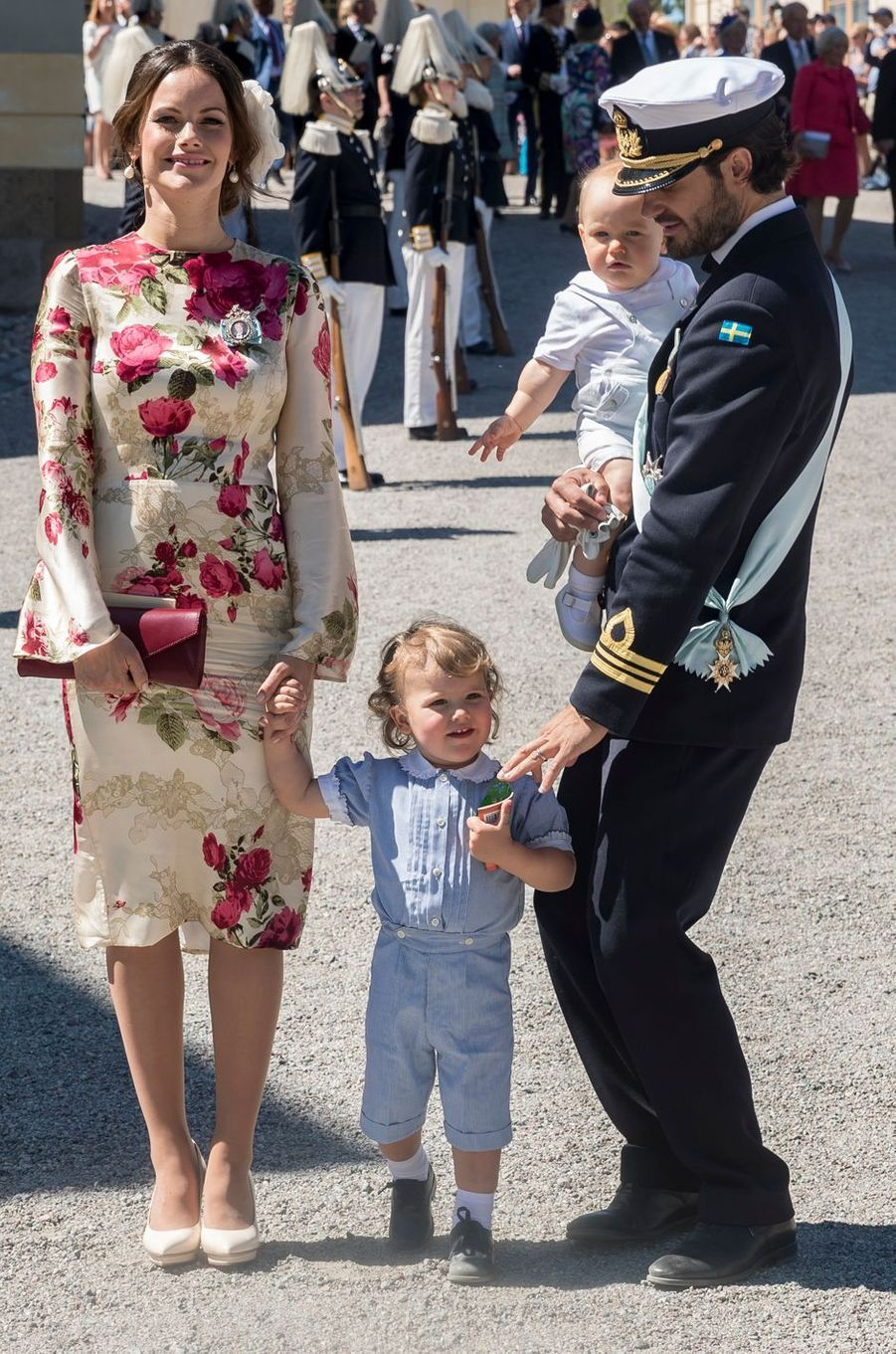 La princesse Sofia de Suède dans une robe Ida Lanto, le 8 juin 2018
