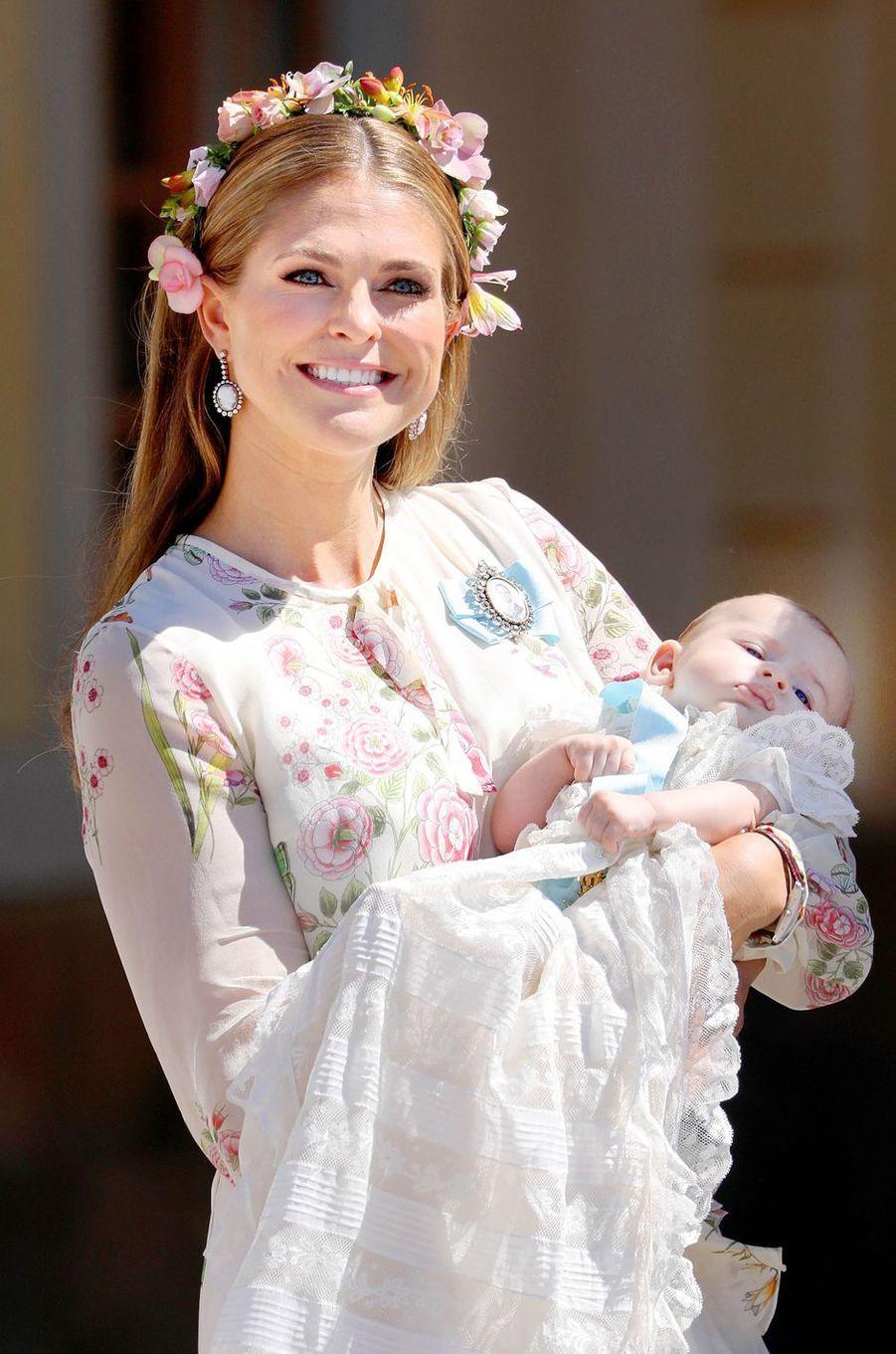 La princesse Madeleine de Suède, le 8 juin 2018