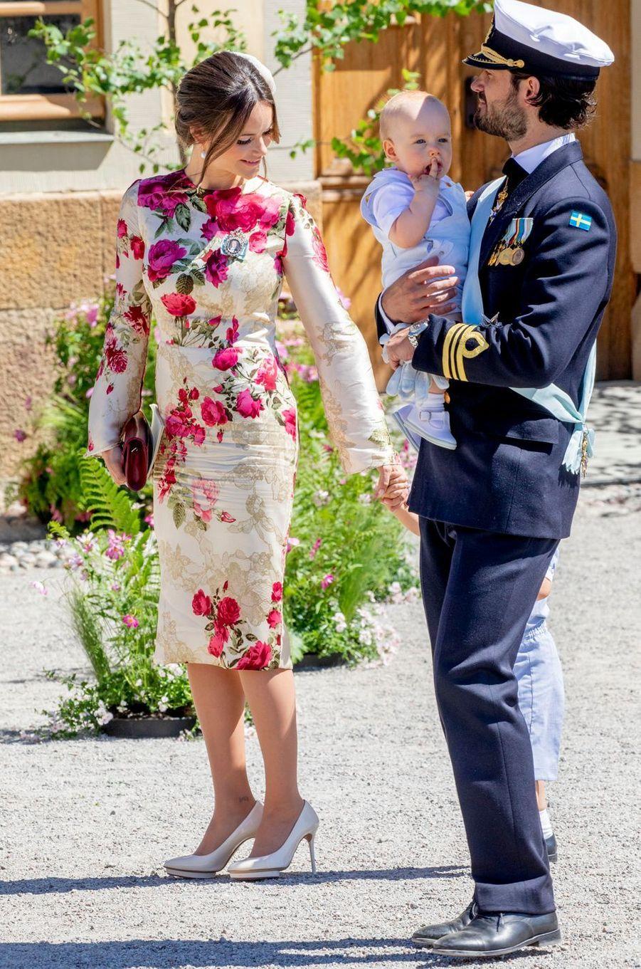 La princesse Sofia de Suède, le 8 juin 2018