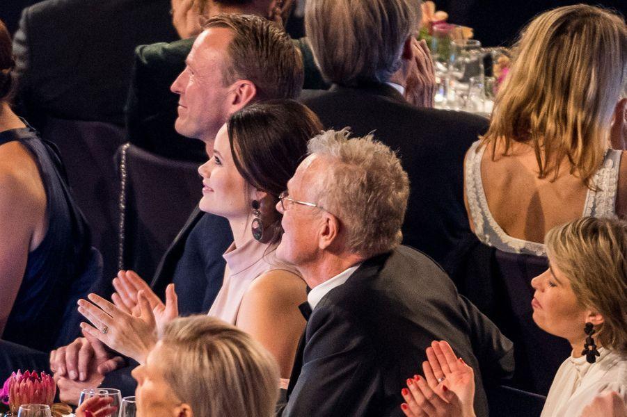 La princesse Sofia de Suède à Stockholm, le 15 janvier 2018