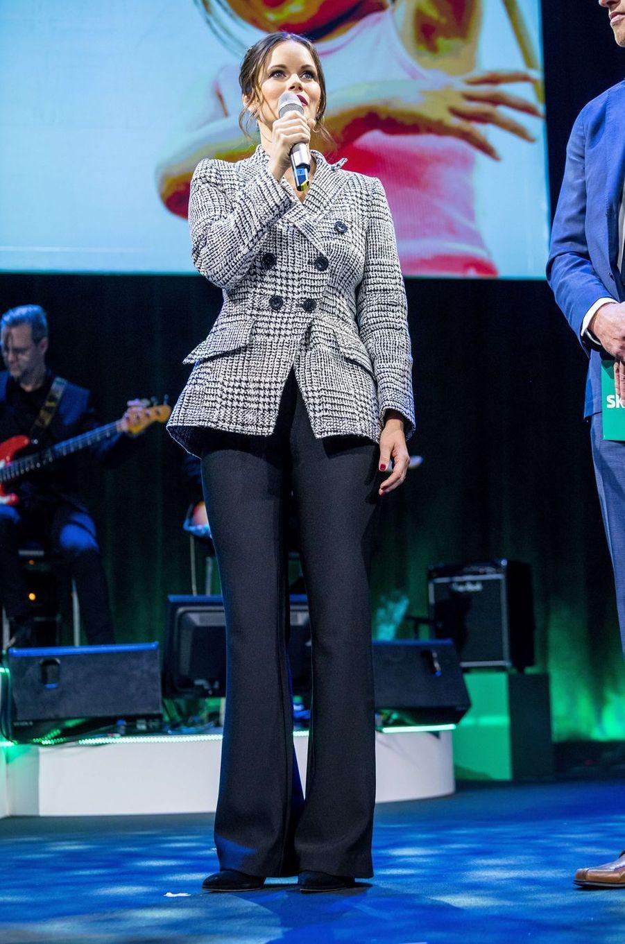La princesse Sofia de Suède à Stockholm, le 30 novembre 2017