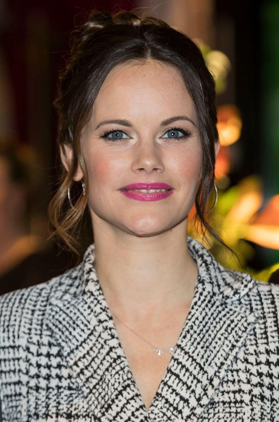 Sofia Hellqvist à Stockholm, le 30 novembre 2017