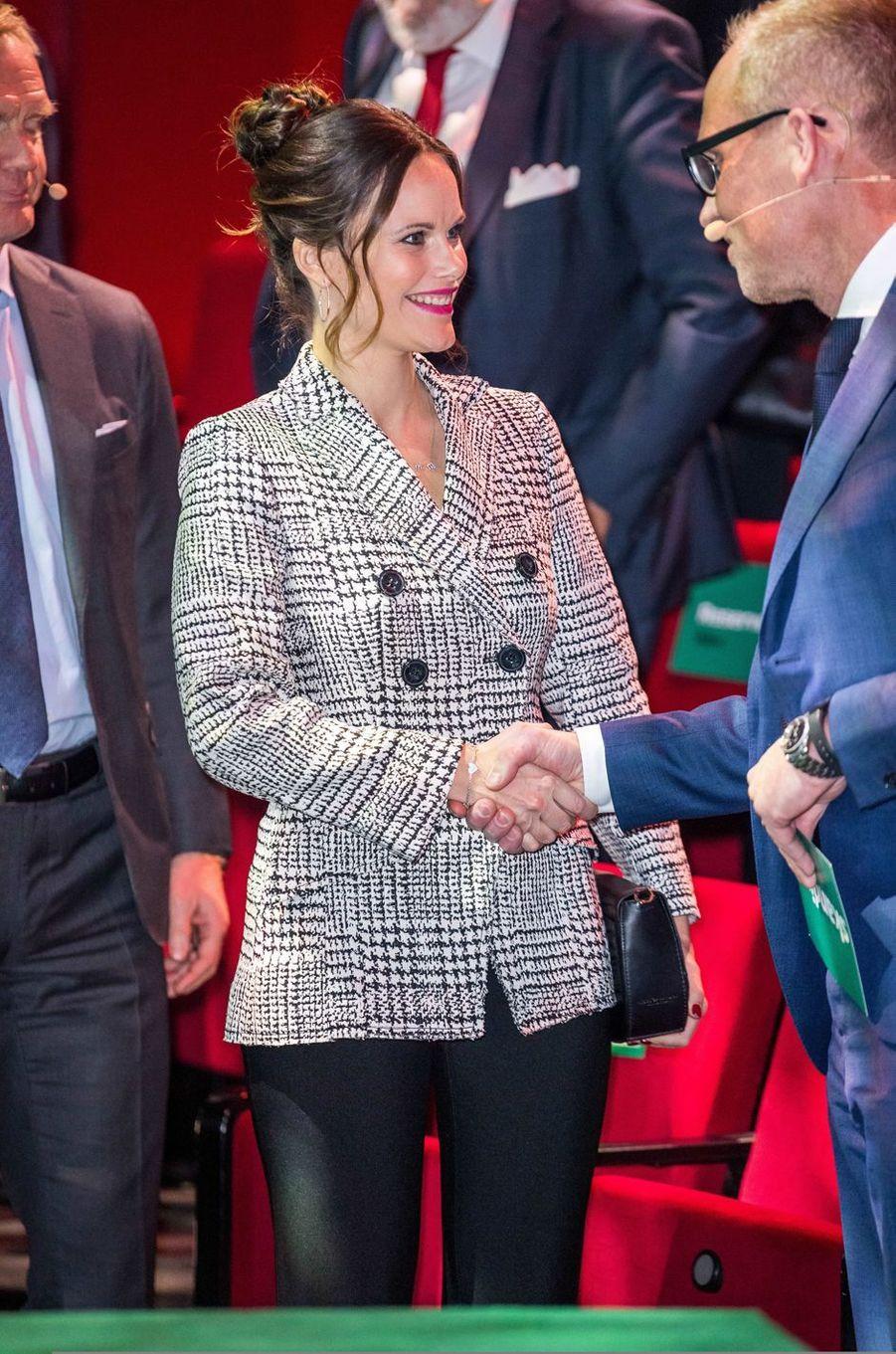 La princesse Sofia de Suède, à Stockholm le 30 novembre 2017