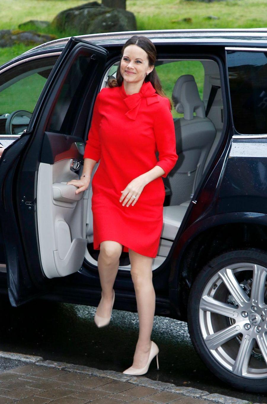 La princesse Sofia de Suède à Stockholm, le 26 mai 2016
