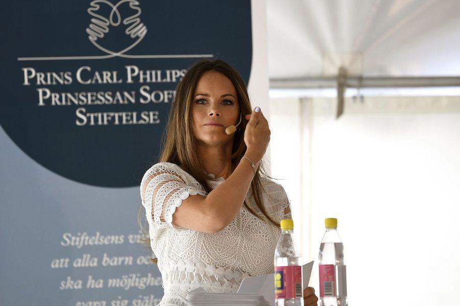 La princesse Sofia de Suède à Stockholm, le 11 août 2018