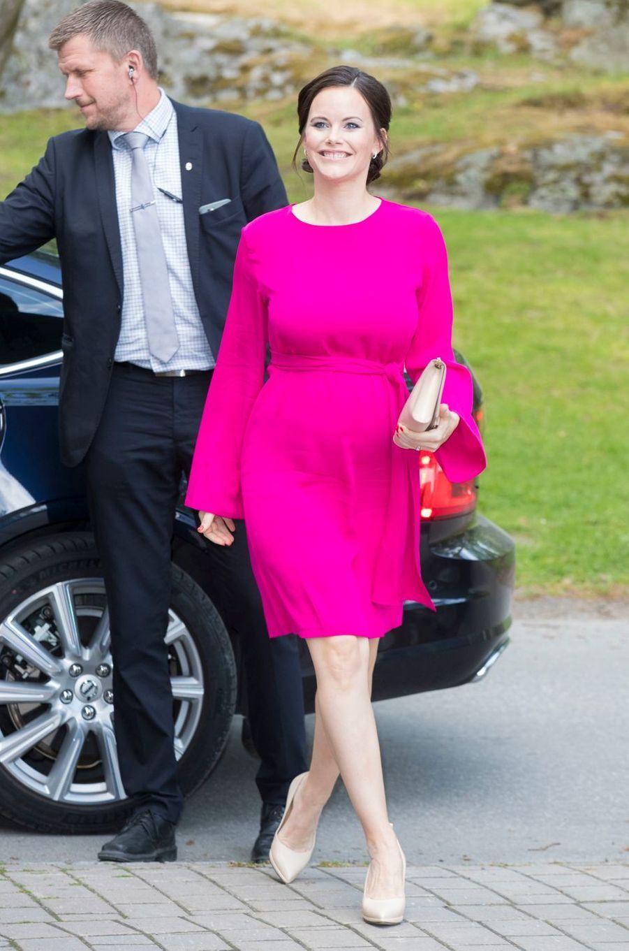 La princesse Sofia de Suède, née Hellqvist, à Stockholm, le 31 mai 2017