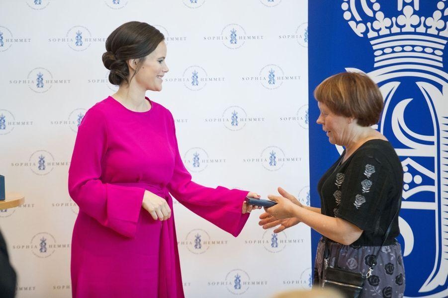 La princesse Sofia de Suède à Stockholm, le 31 mai 2017