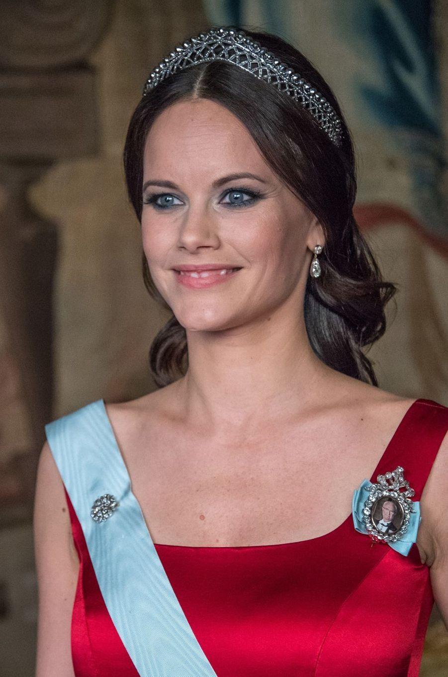 La princesse Sofia de Suède au Palais royal à Stockholm, le 23 mars 2017