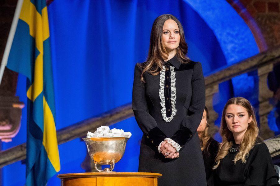 La princesse Sofia de Suède à Stockholm, le 18 janvier 2018
