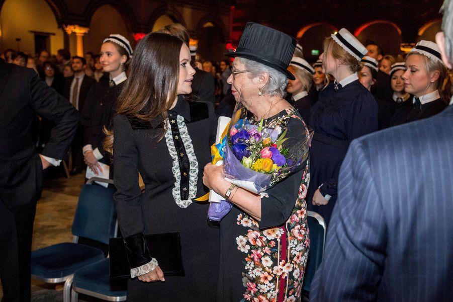 Les princesses Sofia et Christina de Suède à Stockholm, le 18 janvier 2018