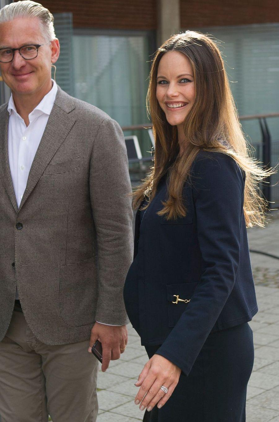 La princesse Sofia de Suède à Bastad, le 2 août 2017