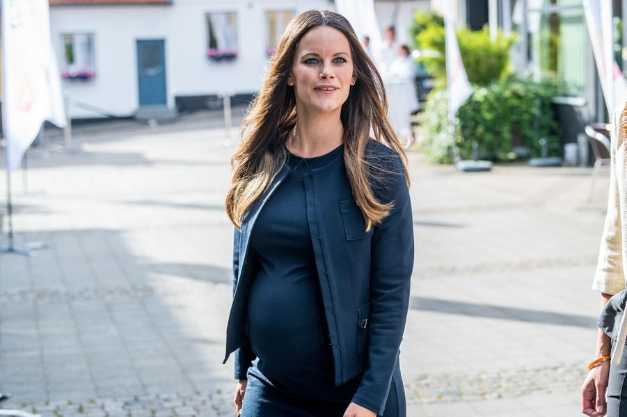 La princesse Sofia de Suède, née Hellqvist, à Bastad le 2 août 2017