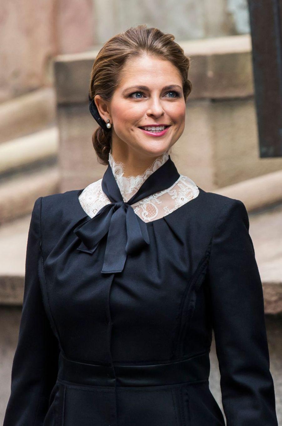 La princesse Madeleine de Suède à Stockholm, le 13 septembre 2016