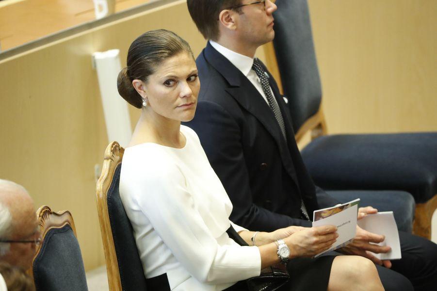 La princesse Victoria de Suède à Stockholm, le 13 septembre 2016